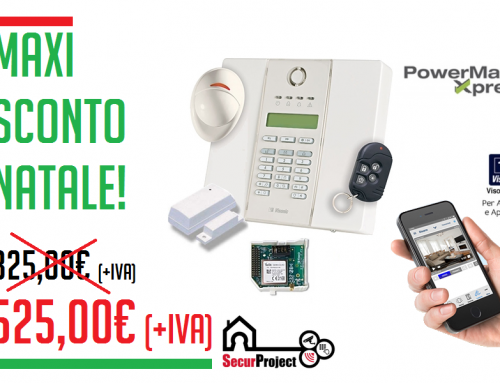 """Kit power max xpress"" Sistema antintrusione"